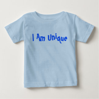 I Am Unique Fun Font Shirt