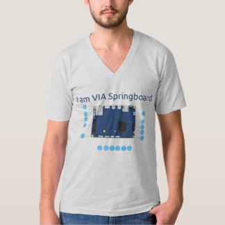 I am VIA Springboard [V] T-Shirt