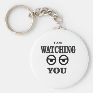 i am watching you keychain