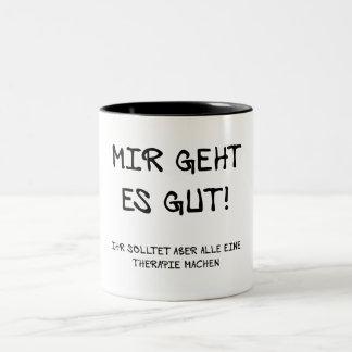 I am well! Two-Tone coffee mug