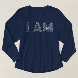 I AM who I am sport's tee Spirit Jersey