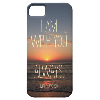 I am with you Always Bible Verse Case For The iPhone 5
