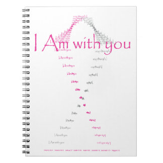I am with you - breast cancer awareness shirt notebooks