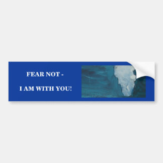 I AM WITH YOU BUMPER STICKER