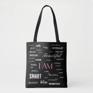 I am....yes, you are. tote bag