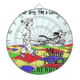 I am your dog C&BMINEpurple Dartboard