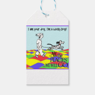 I am your dog C&BMINEpurple Gift Tags