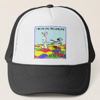 I am your dog C&BMINEpurple Trucker Hat