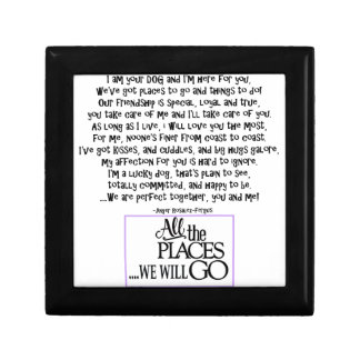 I am your dog FNL BACK purple copy Gift Box