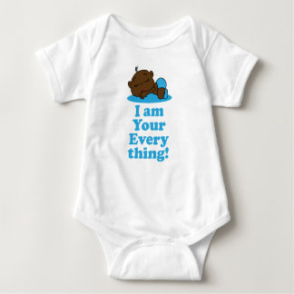 I am your everything-African-American Boy Baby Bodysuit