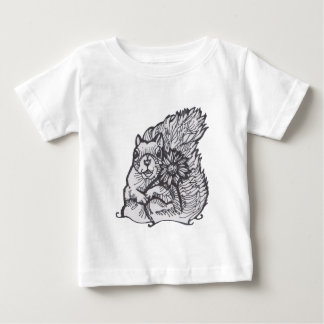 I  am Your Squirrely Love Flower- please give me a Baby T-Shirt