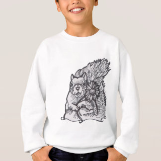 I  am Your Squirrely Love Flower- please give me a Sweatshirt