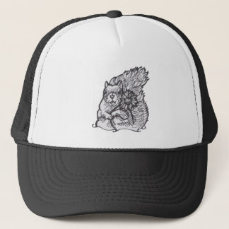 I  am Your Squirrely Love Flower- please give me a Trucker Hat