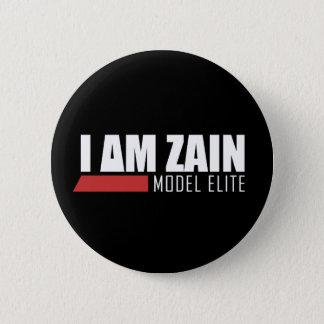 I Am Zain Model Elite 2 Inch Round Button