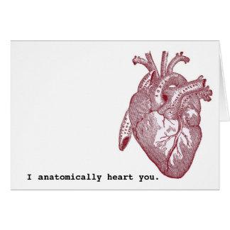I anatomically heart you card