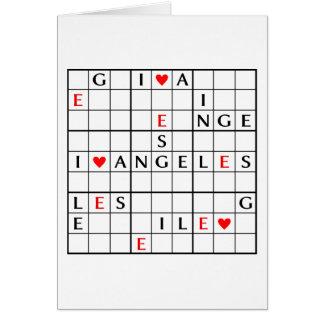 I♥ANGELES CARD