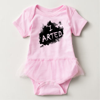 I arted baby bodysuit