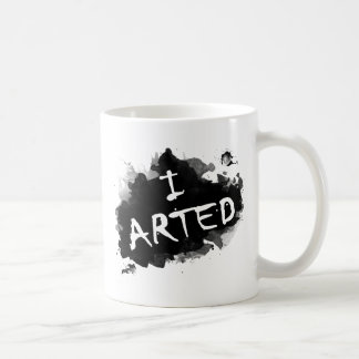 I arted coffee mug