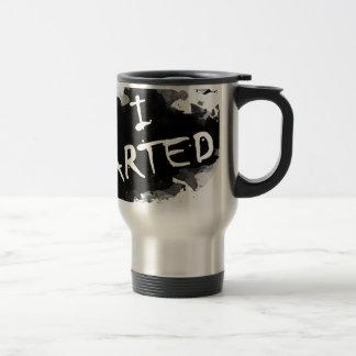 I arted travel mug