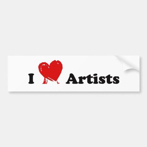 I artistes adhésif pour voiture