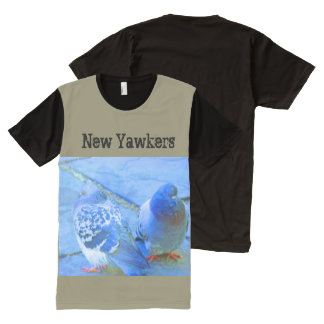 i Arts and Design, New Yorkers Blue T-Shirt