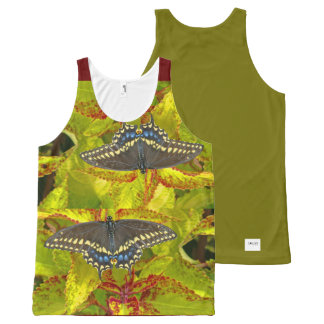 i Arts and Graphics, Butterbutterfly Tank Top