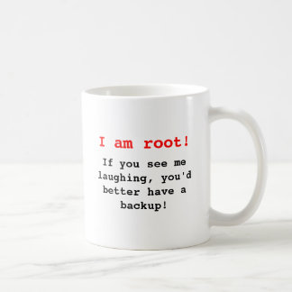I at the root! coffee mug