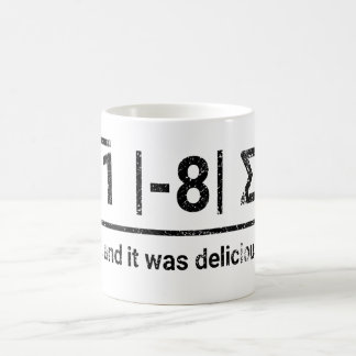 I Ate Some Pi   vintage dark Coffee Mug