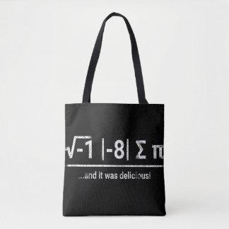 I Ate Some Pi | vintage light Tote Bag