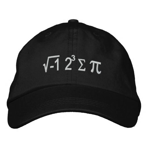 I Ate Some Pie And It Was Delicious Embroidered Hat