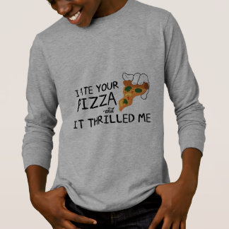 """I Ate Your Pizza"" Basic Long Sleeve Shirt"