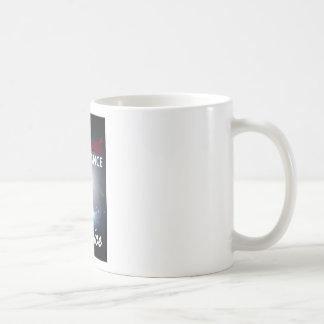I attract abundance by choice classic white coffee mug