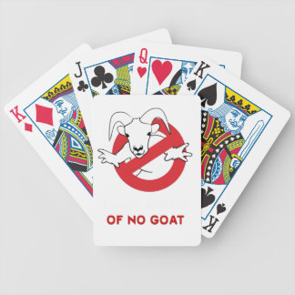 I aunt no goat bicycle playing cards