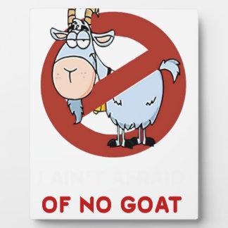 I aunt no goat funny plaque