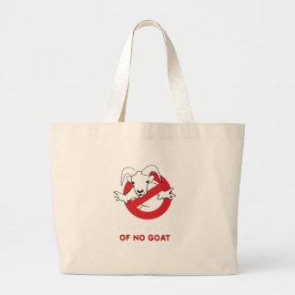 I aunt no goat large tote bag