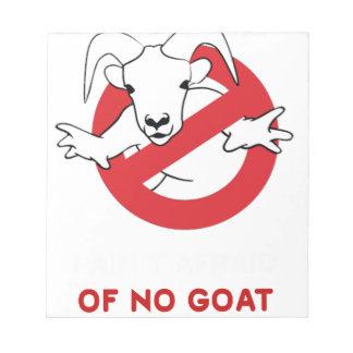 I aunt no goat notepad