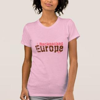 I Backpacked, Europe, 2010 T-Shirt