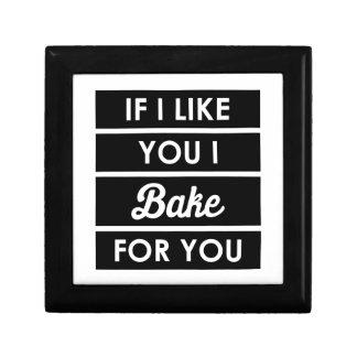I Bake For You Gift Box