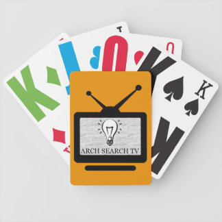 I baralho Arch Search TV (Bicycle) Bicycle Playing Cards