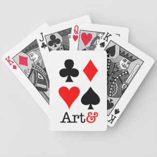 I baralho Art& Bicycle Playing Cards