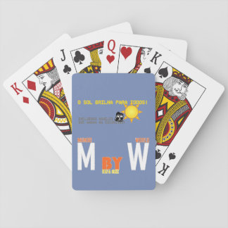 I baralho classic MbyW Meme Edition Playing Cards