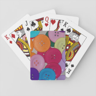 I baralho of buttons playing cards
