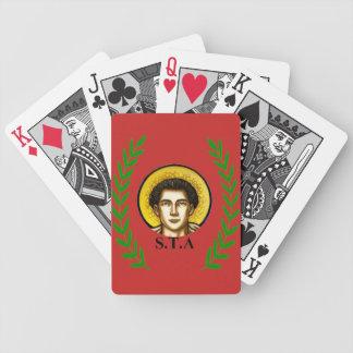 I baralho STA Santo Tomás de Aquino Bicycle Playing Cards