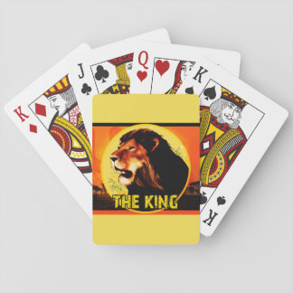 I baralho The King Playing Cards
