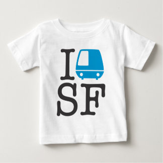 I Bart SF Baby Shirt
