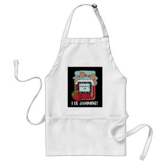 I Be Jamming bear kitchen canning cute apron