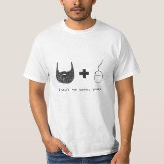 """I Beard and Graphic Design"" T-shirt"