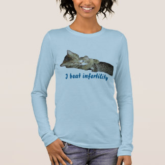 I beat infertility long sleeve T-Shirt
