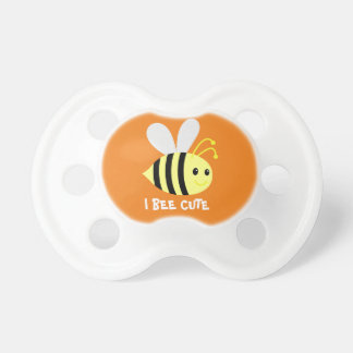 I BEE CUTE BooginHead® Pacifier - Bee Baby Shower