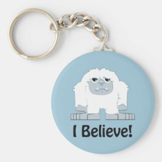I Believe! Cute Yeti Keychain